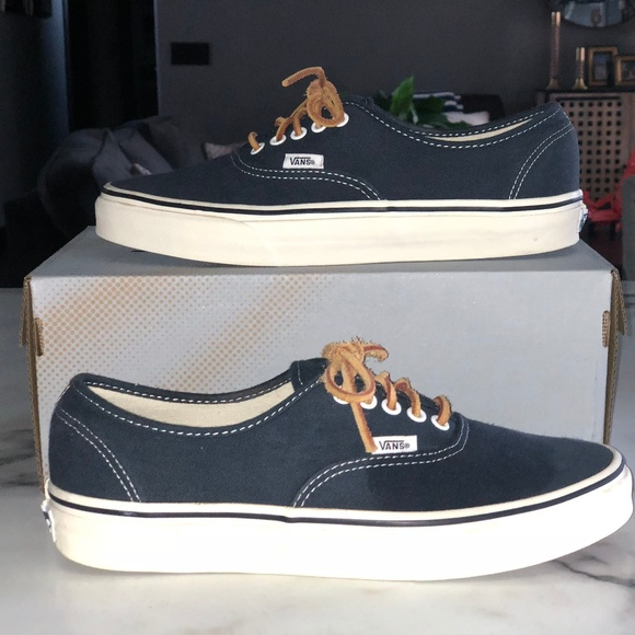843080c39e Vans J.Crew Washed Canvas Authentic Sneakers. M 5b9980a32e1478dd367213aa